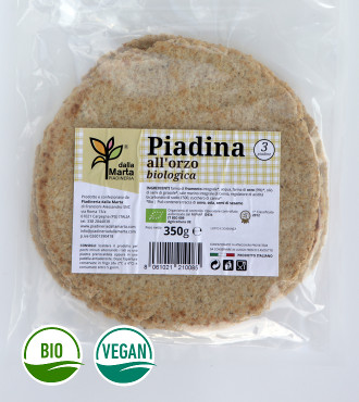 Piadina all'orzo